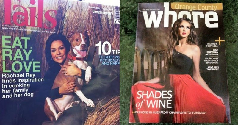 magazine covers with funny fails