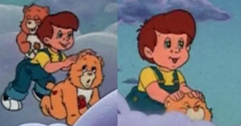 stills from care bears cartoon