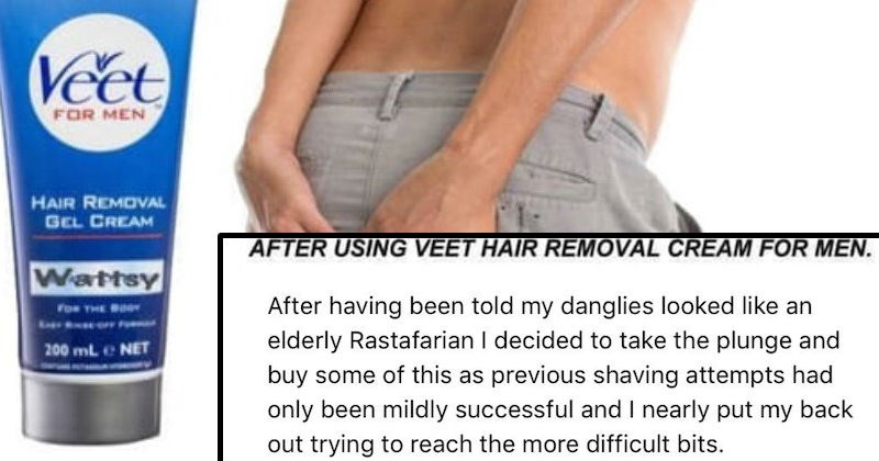 customer review for hair removal product
