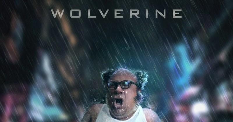 actors movies danny devito ridiculous superheroes wolverine funny - 8651013
