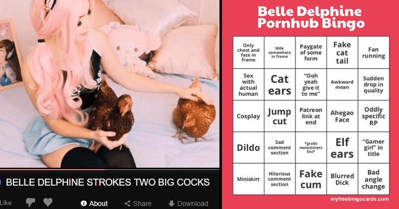 Funny Belle Delphine Pornhub memes
