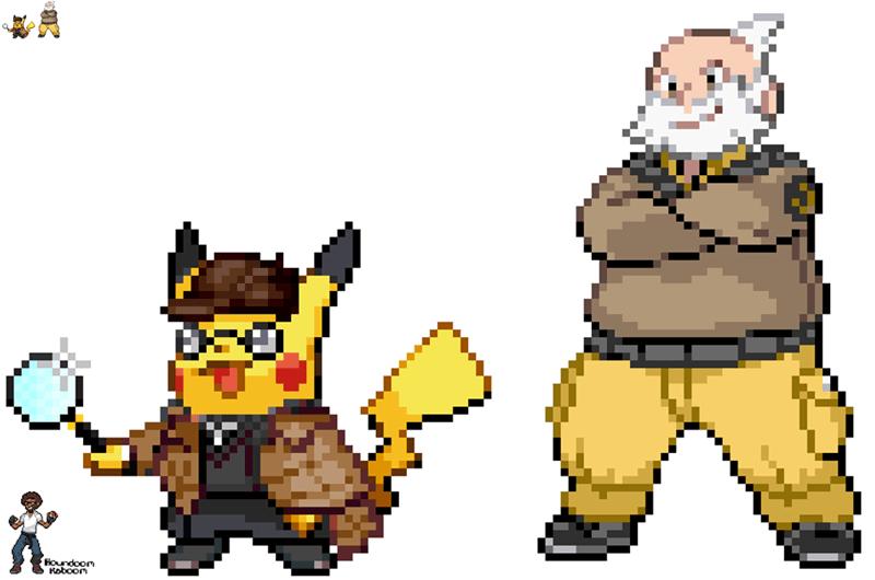 detective pikachu Fan Art - 8659430656