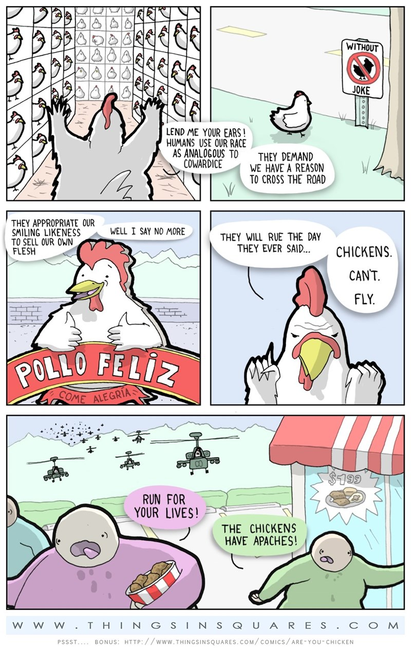 chicken web comics At Least Pigs Still Can't Fly