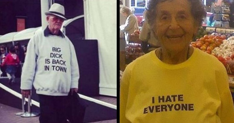 old people t-shirt fails