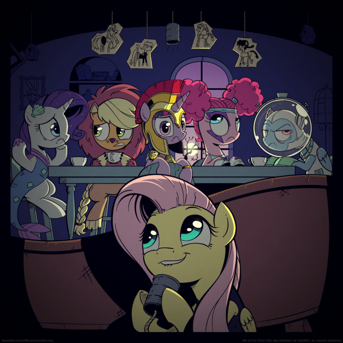 applejack twilight sparkle pinkie pie scare master rarity fluttershy rainbow dash - 8699906304