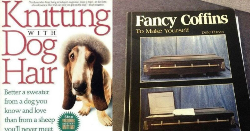 funny weird how to and self help book covers
