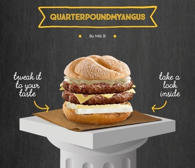 McDonald's Asked People to Invent Their Own Burgers Because Apparently They've Never Been on the Internet Before