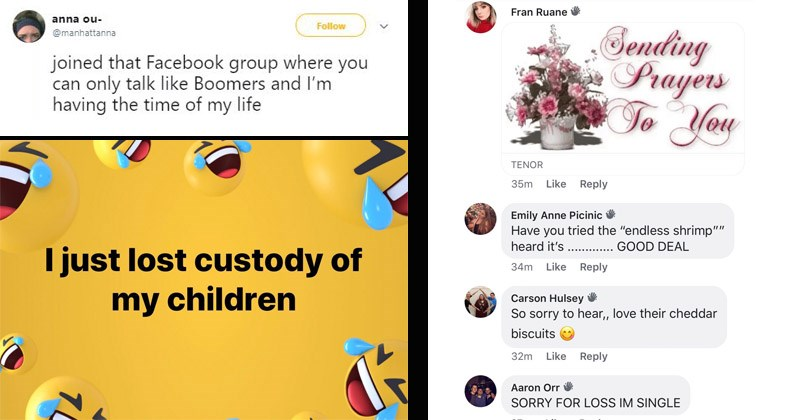 Millennials Flawlessly Mock Baby-Boomer Speak In This Hilarious Facebook Group