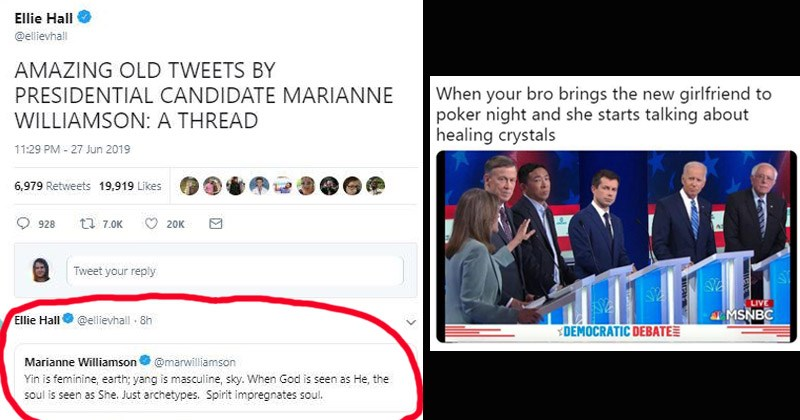Presidential Candidate Marianne Williamson Is Getting Roasted For Her Spiritual-Hippie Vibes