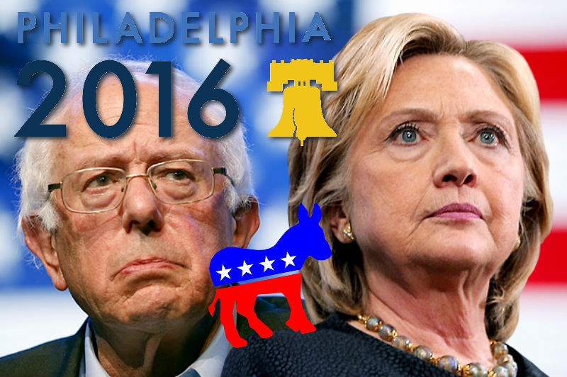 democrats twitter list bernie sanders Hillary Clinton 2016 DNC Video politics - 873221