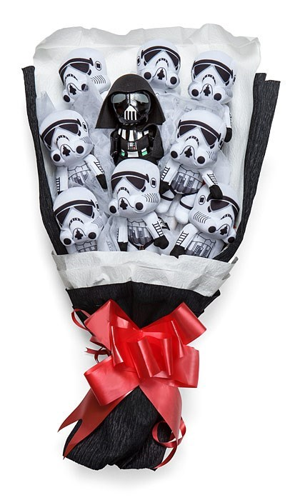 geeky merch star wars bouquet