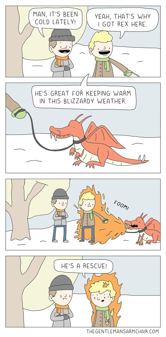 dragons,winter,web comics,rescue