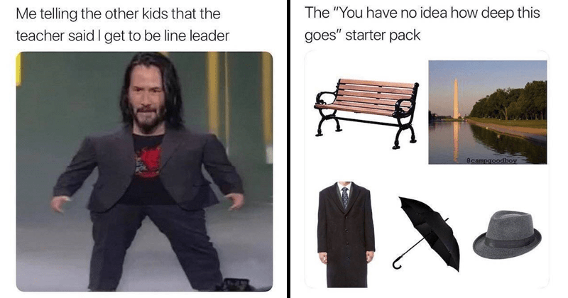 Funny memes, dank memes, keanu reeves, the office, mini keanu reeves, keanu memes