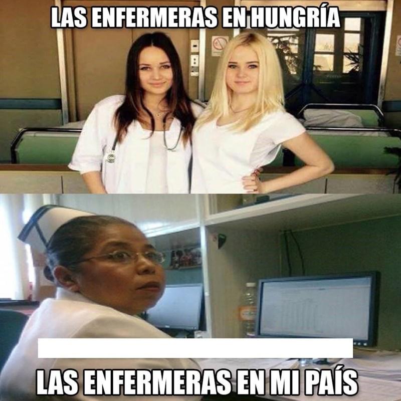 enfermeras en tu pais