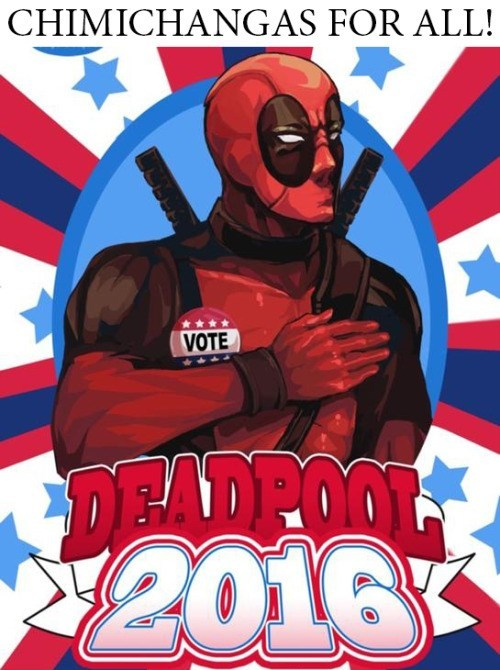 He's Got My Vote
