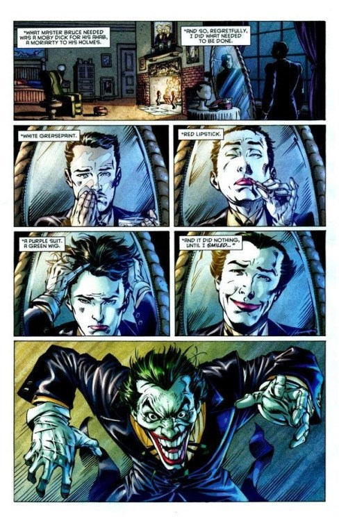 alfred batman joker Alfred, No!