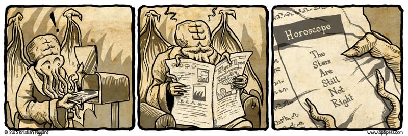 horoscope,cthulhu,web comics