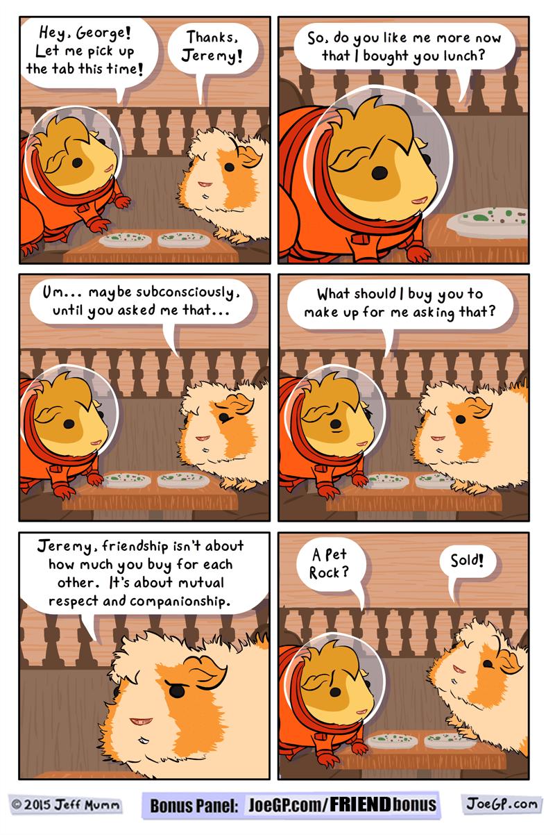 friendship bribery web comics - 8745855232
