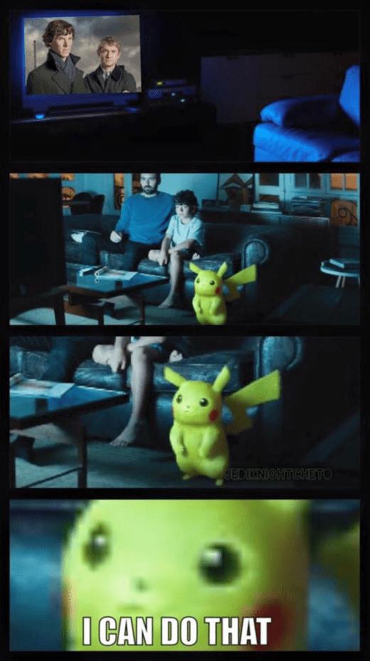 detective pikachu pikachu Sherlock - 8745897472
