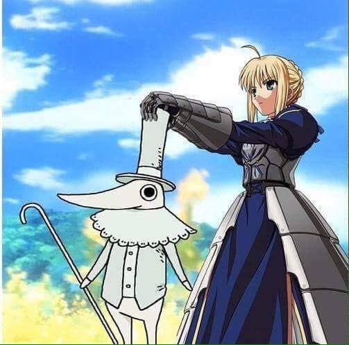 crossover anime soul eater fate stay night - 8746036992