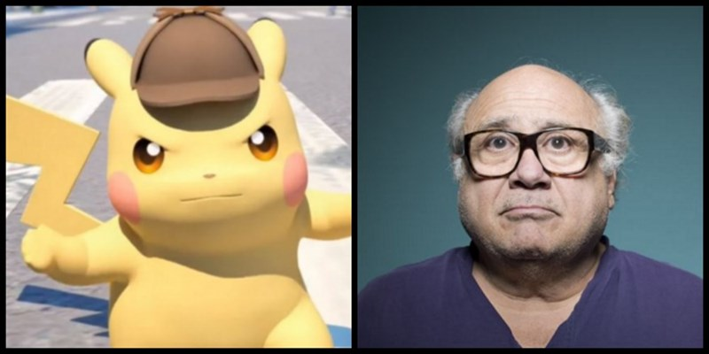 pikachu danny devito A Petition to Make Danny DeVito the Voice of English Speaking Detective Pikachu Has Brought Us The Greatest Pokemon Game Trailer Yet