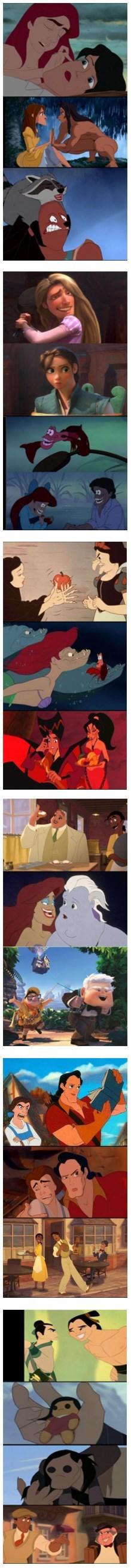 Photoshopeo a la Disney
