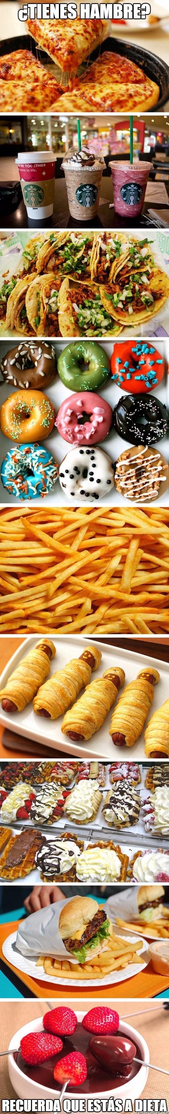 estas a dieta