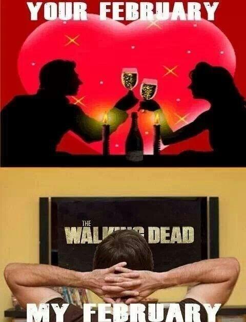 february The Walking Dead - 8746201856