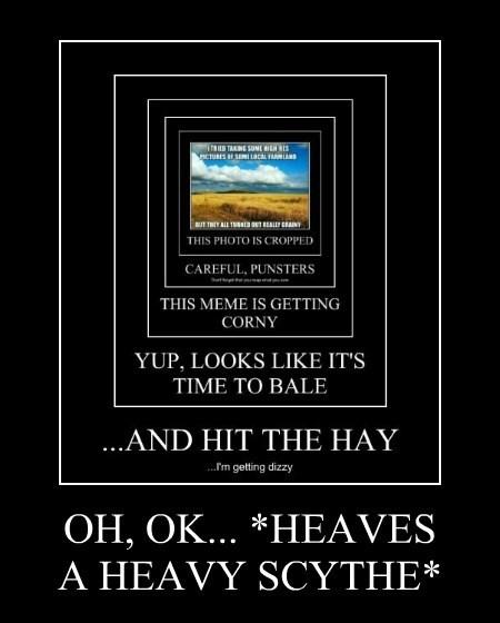 OH, OK... *HEAVES  A HEAVY SCYTHE*