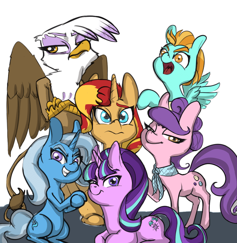 suri polomare the great and powerful trixie lightning dust starlight glimmer gilda sunset shimmer - 8746277888
