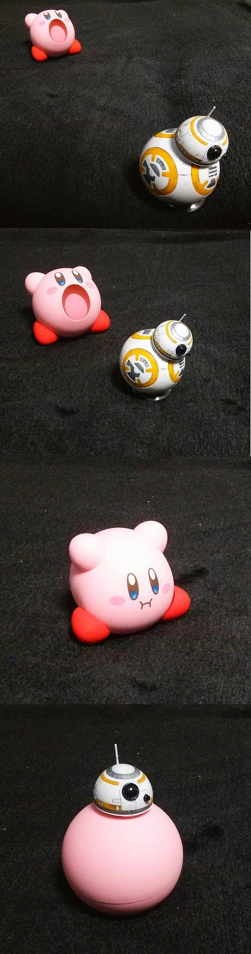 kirby,bb 8,star wars vii