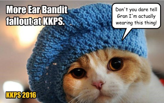 Ear Bandit times call for desperate measures.