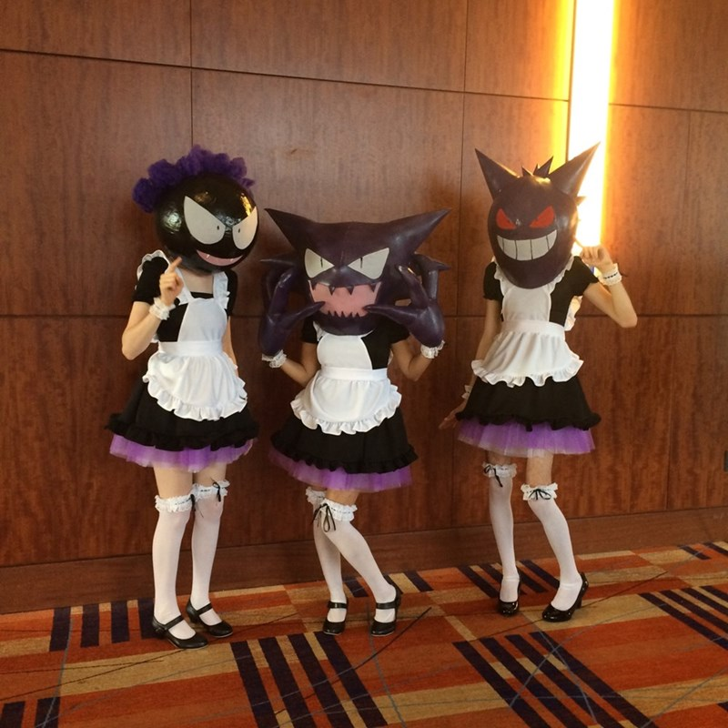 pokemon memes maid outfit cosplay