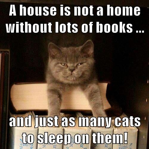 Cats,books