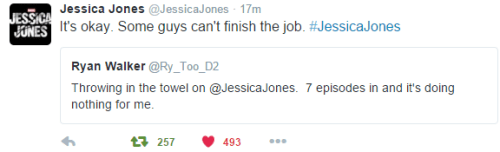 jessica jones twitter Don't Feel Bad