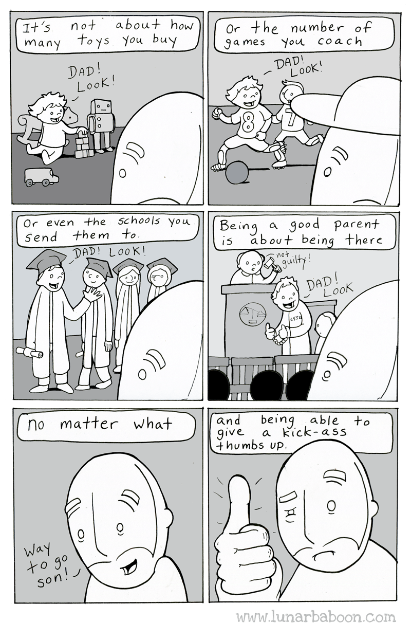 web comics parenting Maybe Those Things Do Matter a Little
