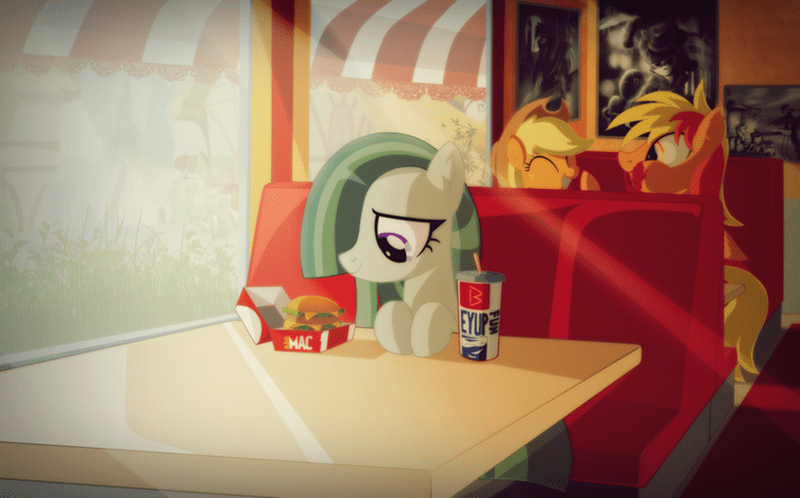 applejack,big mac,marble pie,brave wing