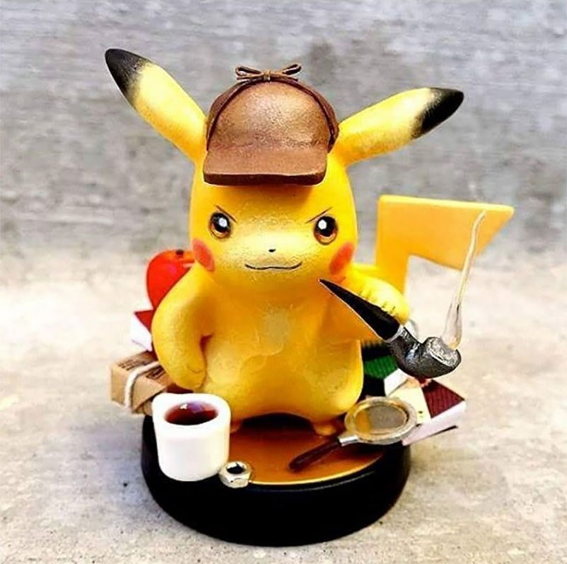pokemon memes detective pikachu amiibo