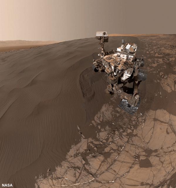 mars rover selfie This Image From Mars is the One Selfie You'll Really Want to See