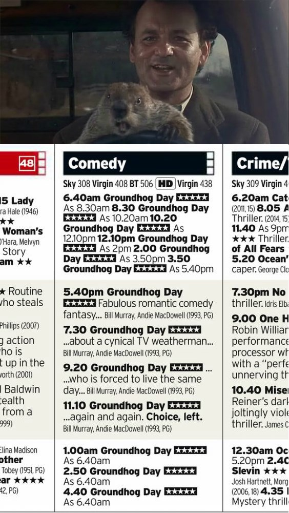 What Better Way to Celebrate Groundhog Day Than With a 24 Hour