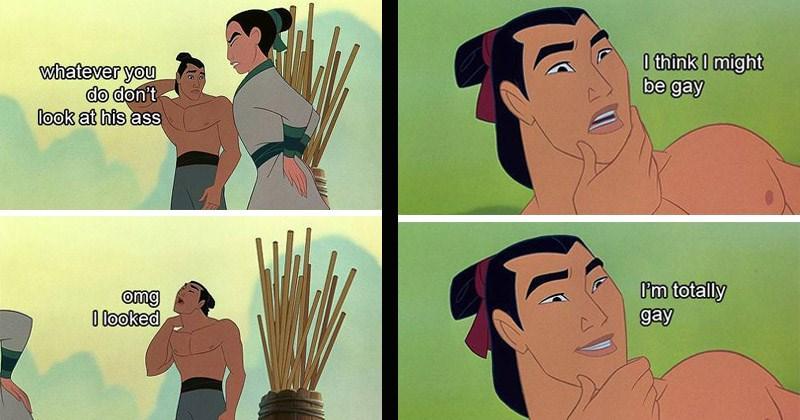 Hilarious Retold Version Of 'Mulan' Re-Imagines Captain Li Shang As A Gay Man