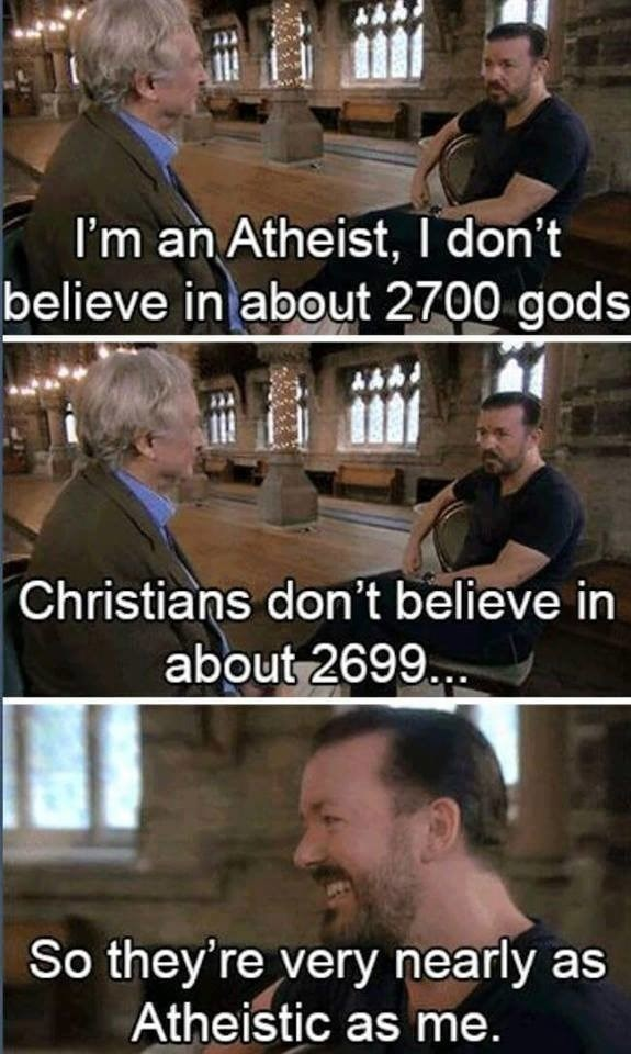 You can't win with Gervais