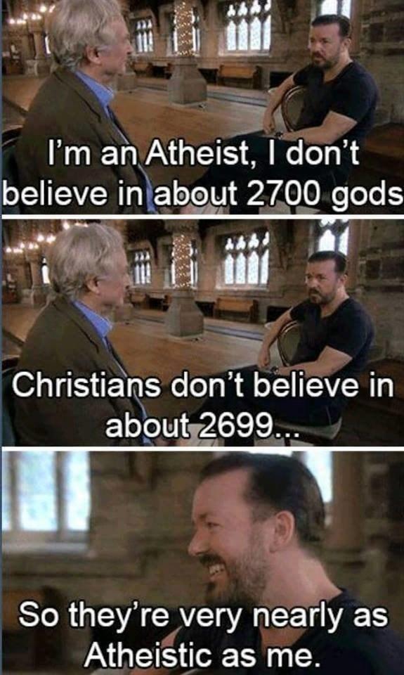 religion atheist ricky gervais - 8747016448