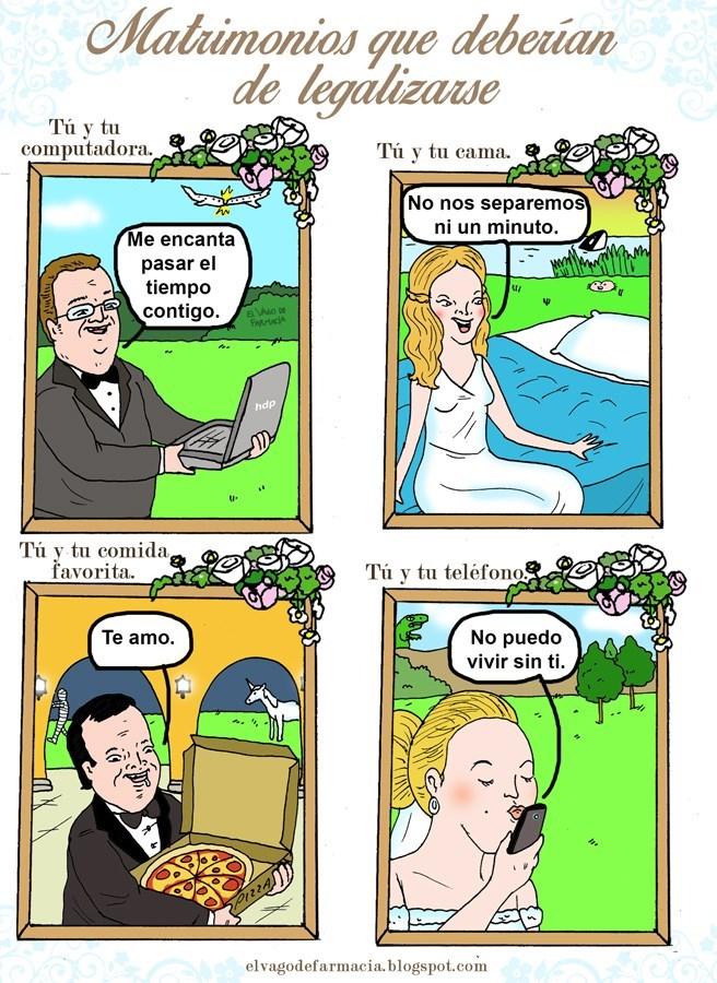 hora de matrimonio