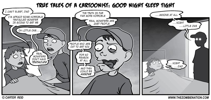 web comics parenting monster Sleep Tight?