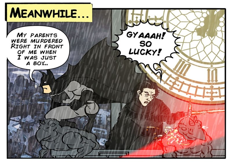 web comics batman kylo ren If Only They Had Sent Kylo Ren to Alfred