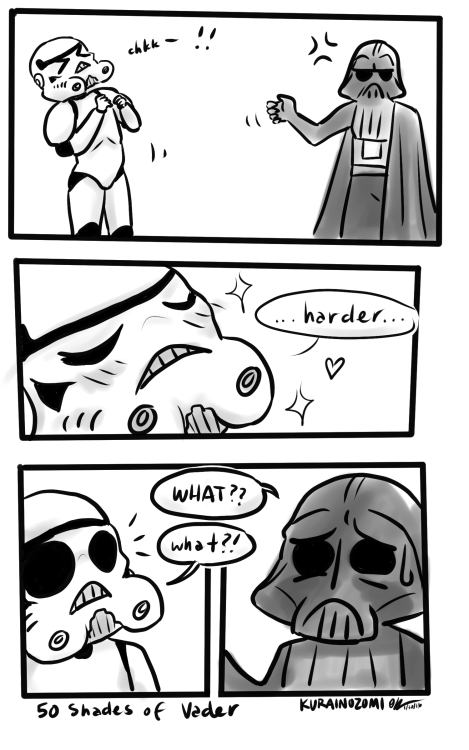 web comics darth vader Some People Get a Little Too Excited About the Dark Side of the Force