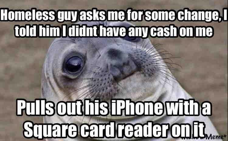 homeless awkward moment seal - 8747066368