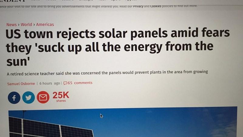 FAIL solar energy america - 8747095040