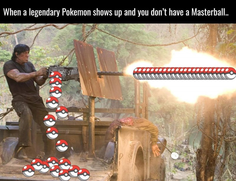 masterball legendary